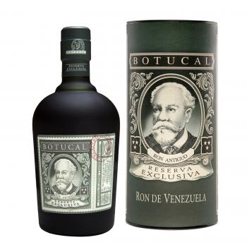 Botucal mit Dose, Reserva Exclusiva, 0,7l, 40% vol.
