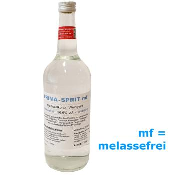 Prima Sprit melassefrei 1 Liter 96,6% vol. 1000ml