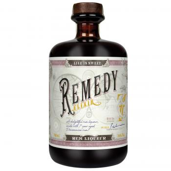 REMEDY Elixir, Rum-Likör, 0,7l, 34% vol. alc.