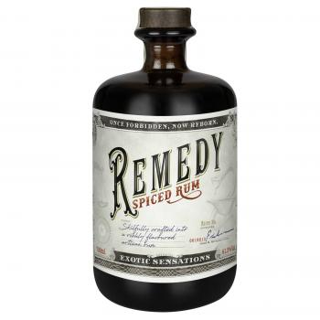 Rum Remedy spiced Flasche