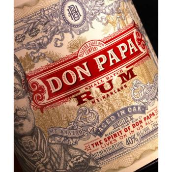 Don Papa, Rum 7 Jahre, 0,7l - 40% vol., Philippinen