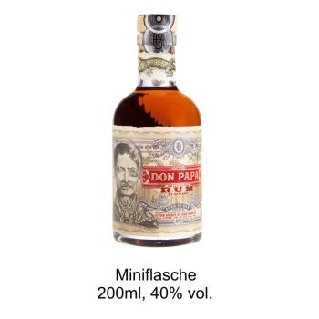 Miniflasche Don Papa, Rum 7 Jahre, 0,2l - 40% vol., Philippinen