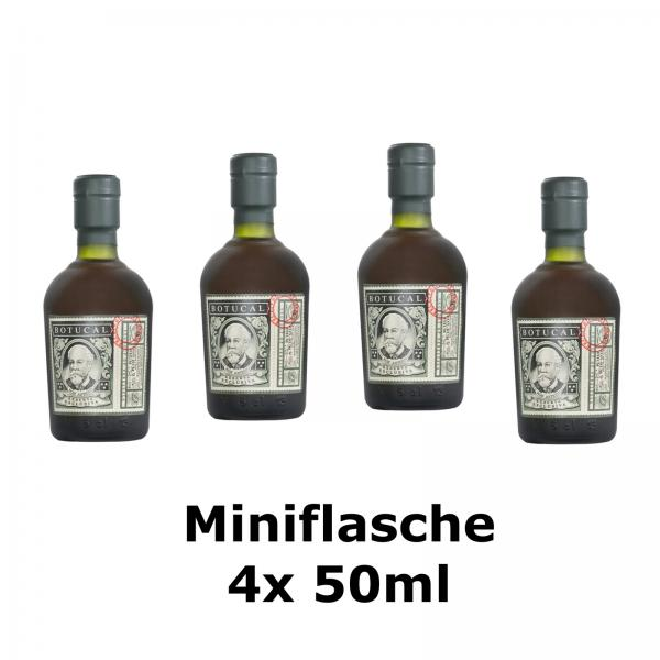 4x Miniflasche - Rum Botucal, Reserva Exclusiva, Venezuela, 50ml, 40% vol.